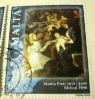 Malta 1998 Christmas 6c - Used - Malta