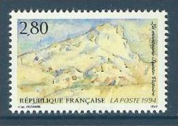 France 1994 ( Mount St. Victoire, By Paul Cezanne ) - MNH (**) - France