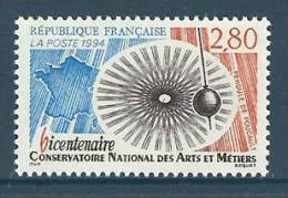 France 1994 ( Natl. Conservatory Of Arts And Crafts Bicent. ) - MNH (**) - France