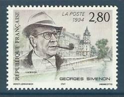 France 1994 ( Georges Simenon (1903-89), Writer ) - MNH (**) - France