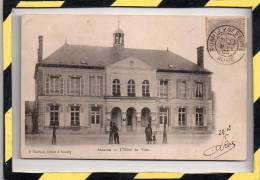 TYPE PRECURSEUR. - . ANGLURE - L'HÔTEL DE VILLE. CIRCULEE EN 1903 - Anglure