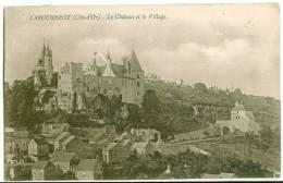 La Rochepot : Le Chateau Et Le Village - France
