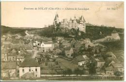 Nolay : Chateau De La Rochepot Et Le Village - France