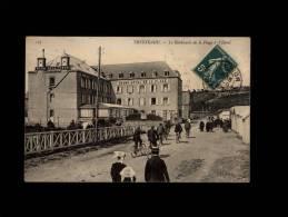 22 - TRESTRAOU - Le Boulevard De La Plage Et L'Hôtel - 127 - Commune De Perros-Guirec - Perros-Guirec