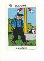 1 Carte De Jeu /  Eolienne Et Vache Buvant à L'abreuvoir / Agriculteur Métier Agriculture Ferme Fermier  // IM 59/9 - Vieux Papiers