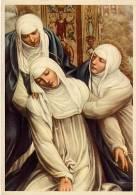 Santino Cartolina ESTASI DI SANTA CATERINA (Sodoma) - PERFETTO E36 - Religion & Esotericism