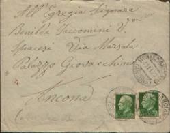 ANNULLO GULLER DI MONTEMARCIANO ( ANCONA ) 1929 - 1900-44 Vittorio Emanuele III