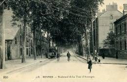 N°24039 -cpa Rennes Boulevard De La Tour D´Auvergne- - Rennes