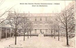 PARIS ECOLE DES HAUTES ETUDES COMMERCIALES ,COUR DE RECREATION  REF 29152 - School