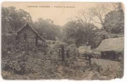 CPA GRANDE COMORE - PAILLOTES DE PLANTEURS - Comores