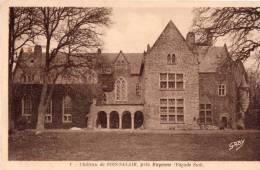 Cpa Château De BOIS SALAIR Près Mayenne, Façade Sud   (13.40) - Autres Communes