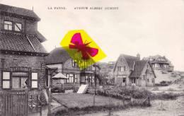 LA PANNE - Avenue Albert Dumont - Super Carte - De Panne