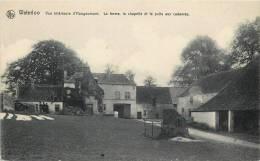 WATERLOO INTERIEUR DE LA FERME D'HOUGOUMONT FERME CHAPELLE ET PUITS AUX CADAVRES BELGIQUE - Waterloo