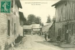 SAULCES-CHAMPENOISES - Rue De Moineau - Other Municipalities