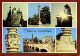 Deutschland - Schwerin - Mehrbildkarte