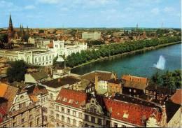 Deutschland - Schwerin - �bersicht -  (Pfaffenteich, Arsenal)