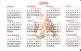 CALENDARIO DEL AÑO 2006 DE PAPA NOEL (NAVIDAD-CHRISTMAS) (CALENDRIER-CALENDAR) - Calendarios
