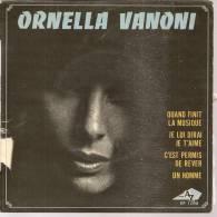 """45 Tours EP -  ORNELLA VANONI - AZ 1098 -  """" QUAND FINIT LA MUSIQUE """" + 3 - Other - French Music"""