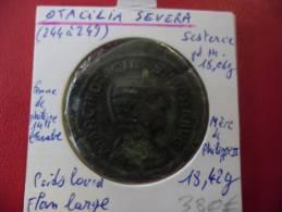 Sesterce D' OTACILA SEVERA (règne 244 à 249) @ Femme De Philippe 1er L'Arabe @ Voir 4 Photos - 5. L'Anarchie Militaire (235 à 284)
