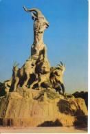 Cina-china-the Five-rams Sculpture At Yuexiu Garden - Cina