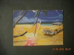 ALAIN BERTRAND    BEACH    VOITURE  AUTO - Illustrators & Photographers