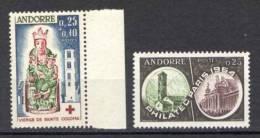 Andorra 1964 Annata Completa / Complete Year Set **/MNH VF - French Andorra