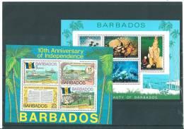 Barbade: BF 9/ 10 ** - Barbades (1966-...)