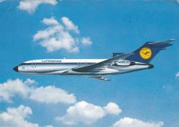 AVION LUFTHANSA,BOEING 727 EUROPA JET - 1946-....: Moderne