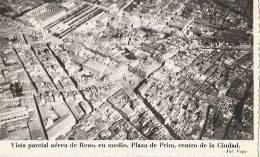 Vista Parcial Aréa De Reus Plaza De Prim Centro De La Ciutad écrite 1948 - Tarragona