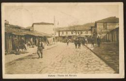 ALBANIA ALBANIEN Valona Old Postcard #80 - Albanien