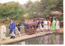 Corea Del Sud-  Traditional Old Fashioned Wedding Ceremony - Corea Del Sud