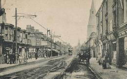 Grimsby Freeman Street War Postal Censor Censure Marine Mark To Lisieux Calvados Guerre 14 - Angleterre