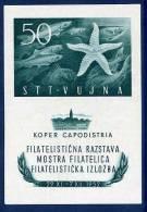 TRIEST ZONE B 1952 Stamp Exhibition Block, MNH / **.   Michel Block 2 - 7. Trieste