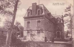 CPA - 76 - SAINT SAENS - Château De L'abbaye - RARE !!!!! - Saint Saens