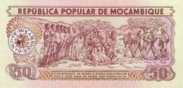 MOZAMBIQUE P. 125 50 M 1980 UNC - Mozambique