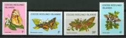 1982 Isole Cocos Fauna Farfalle Butterlies Schmetterlinge Papillons Set MNH** B18 - Isole Cocos (Keeling)