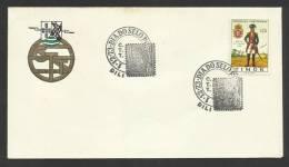 Timor Oriental Portugal Cachet Commémoratif Journée Du Timbre 1973 East Timor Event Postmark Stamp Day - East Timor