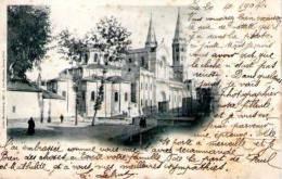 71. Macon. Eglise Saint Pierre. Cachet MACON A MODANE .C  Du 20 AVRIL 04 Sur Carte Postale - Macon