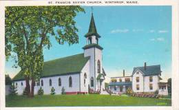 Maine Winthrop Saint Francis Xavier Church 1948 - Sonstige
