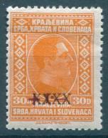 Yugoslavia Kingdom, King Alexander XXX Overprint 1928 Mi#221, Mint Hinged - Yugoslavia