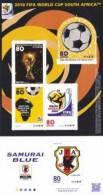 Japan 2010 Block FIFA World Cup South Africa * * - Blocks & Sheetlets