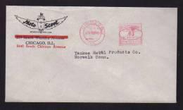 U.S.A. - CHICAGO / Avril 1940 / Enveloppe Entete MOTO-SCOOT / Scooter / - Motorbikes