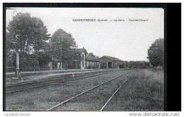 45 - COURTENAY - LA GARE - VUE INTERIEURE - Courtenay