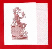 """- 473-1  - Serviette Papier   Pour Collection """" FRAISPERTUIS """" - Reclameservetten"""