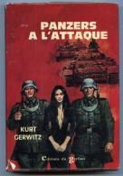 Panzers à L'attaque  /  Kurt Gerwitz     ( Gerfaut Cartonné Avec Jaquette ) - Action