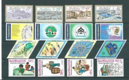 Barbade: 445/ 463 **  Année 1978 - Barbades (1966-...)