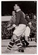 SPORTS FOOTBALL PLAYER JACK LANE BRIMINGHAM CITY F.C. 1956. AUTOGRAPH PHOTOGRAPHY - Postcards