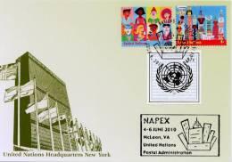 ONU New-York 2010 - Show Card NAPEX McLean 4-6 Juin 2010 - Unclassified