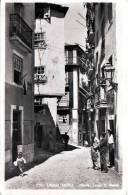 LISBOA ANTIGA (Portugal), Alfama, Largo S. Rafael, Gelaufen 1959 Von Senegal Nach Wien, Schöne Sondermarke - Lisboa