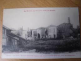 ETIVAL LE VIVIER MAISONS INCENDIEES PENDANT LES COMBATS AUTOUR DE ST DIE 1914 - Etival Clairefontaine